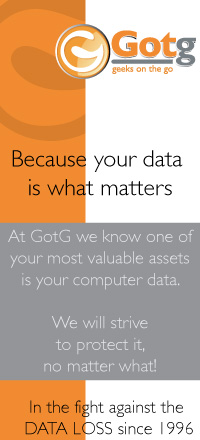 Because your data is what matters